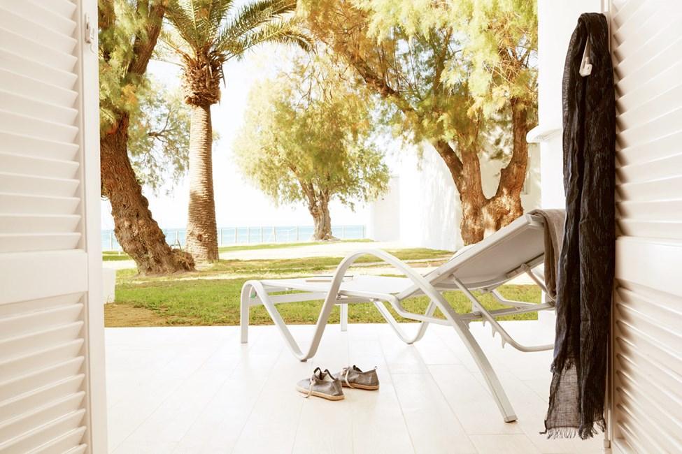 Bungalow Suite med terrasse mod haven