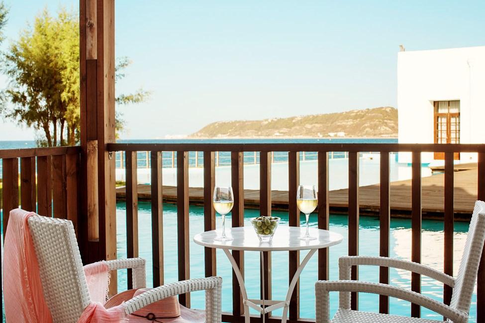 Classic Suite med balkon mod lagunen