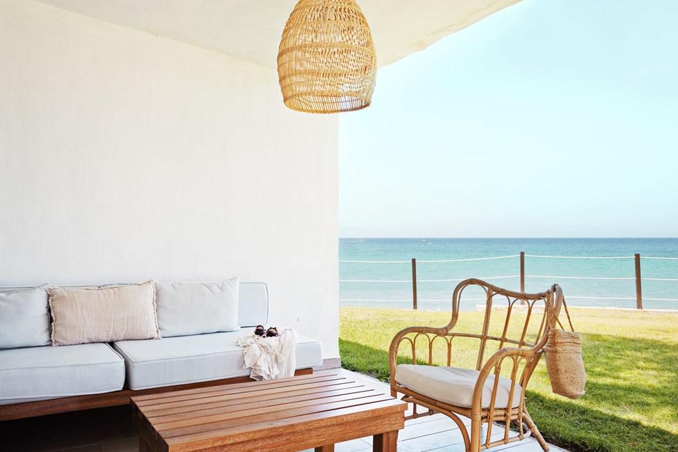 2-værelses Prime Lounge Suite med terrasse med havudsigt