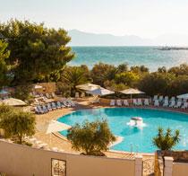 Børnevenlige hotel Waterman Supetrus Resort.