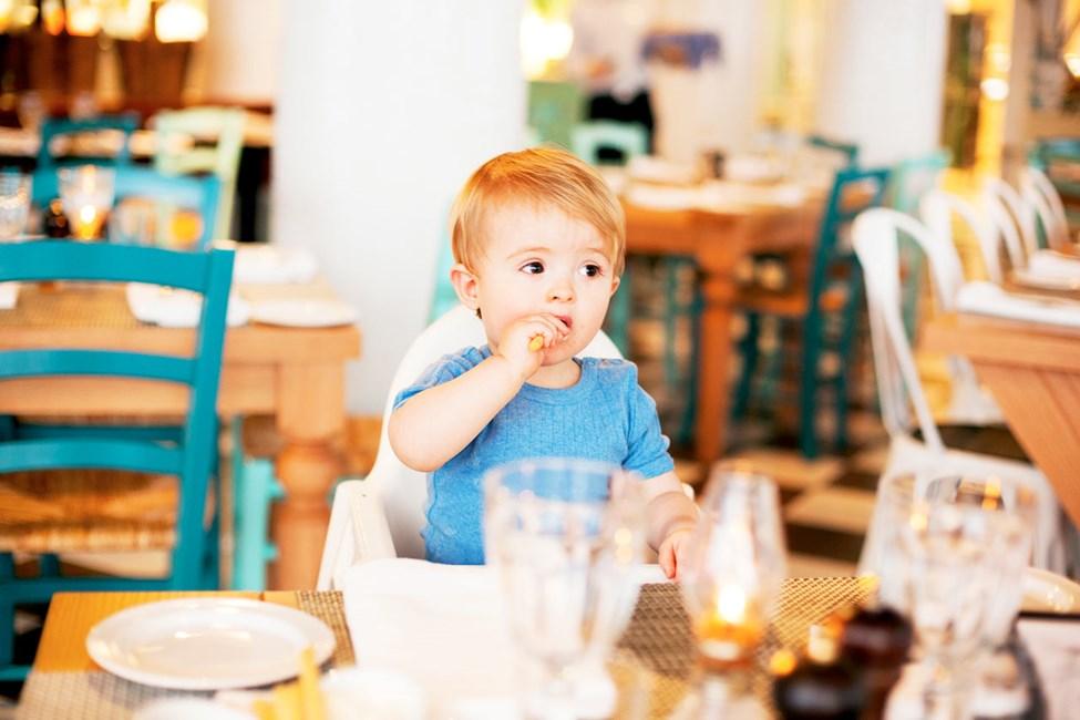 Både store og små trives i Vicente's Kitchen & Grill
