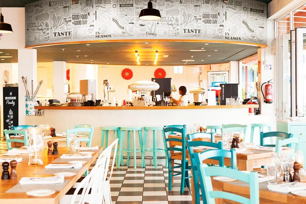Hotellets familierestaurant, Vicente's Kitchen & Grill