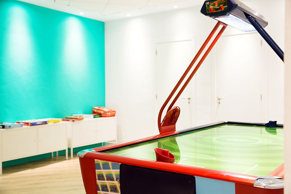 I Teen Lounge tilbydes bl.a. forskellige slags sport i vandet og på land, flash mobs og kreative aktiviteter