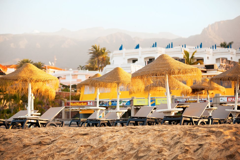 Fañabé-stranden ligger ca. 300 meter fra hotellet
