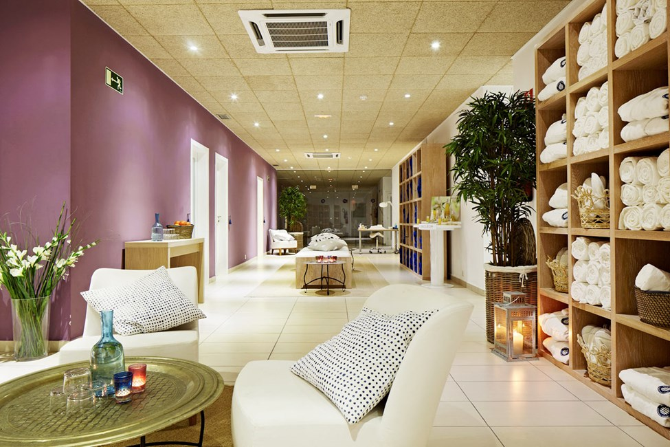 I hotellets spaafdeling kan du nyde flere forskellige behandlinger