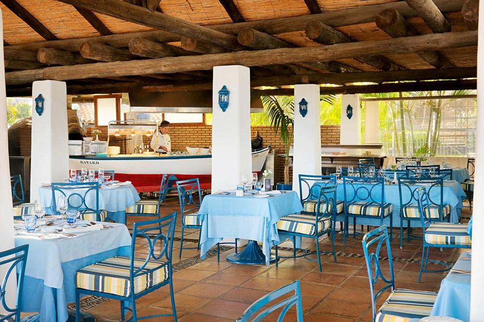 Den italienske a la carte-restaurant ved Laurel Beach Club