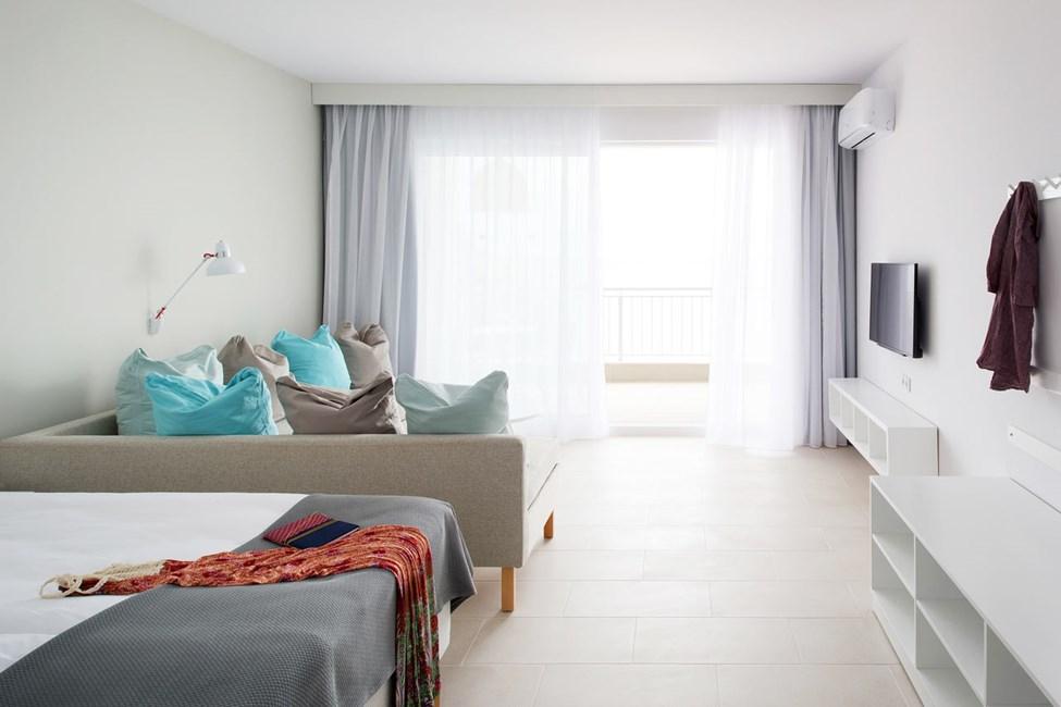 1-værelses lejlighed med havudsigt