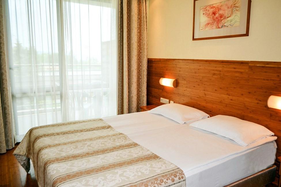 Soveværelset i en 2-værelses lejlighed