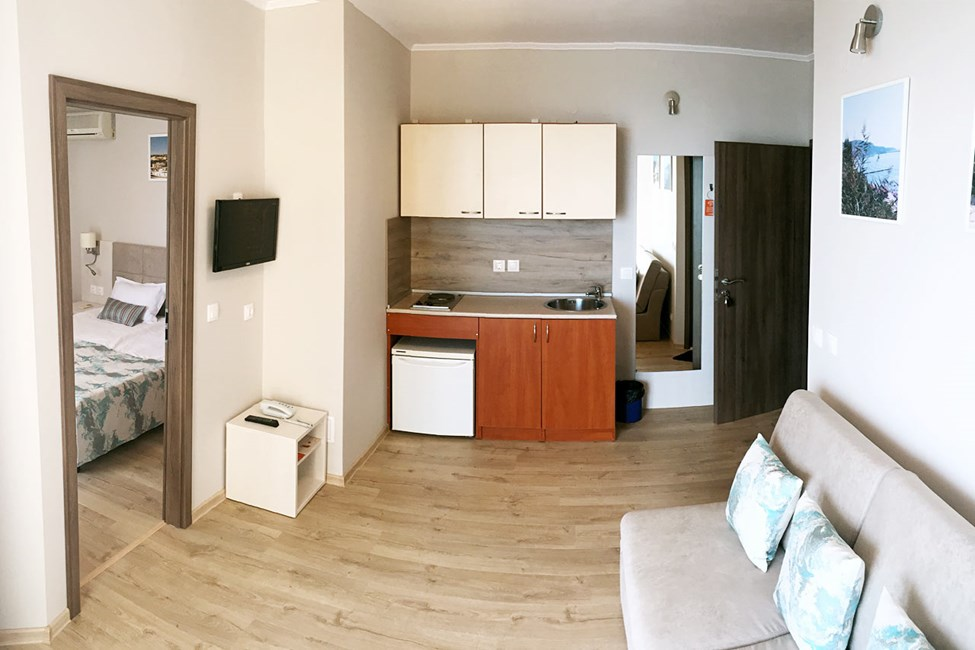 3-værelses lejlighed med havudsigt