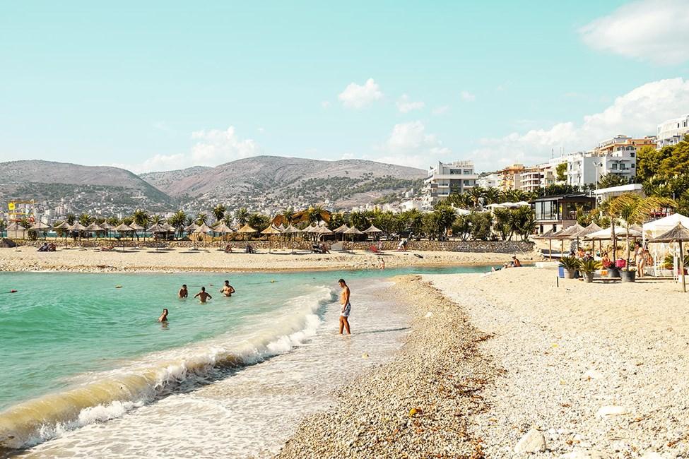 Stranden tæt på Harmony Hotel