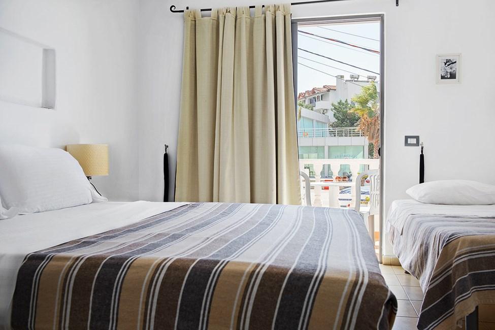 Dobbeltværelse med balkon