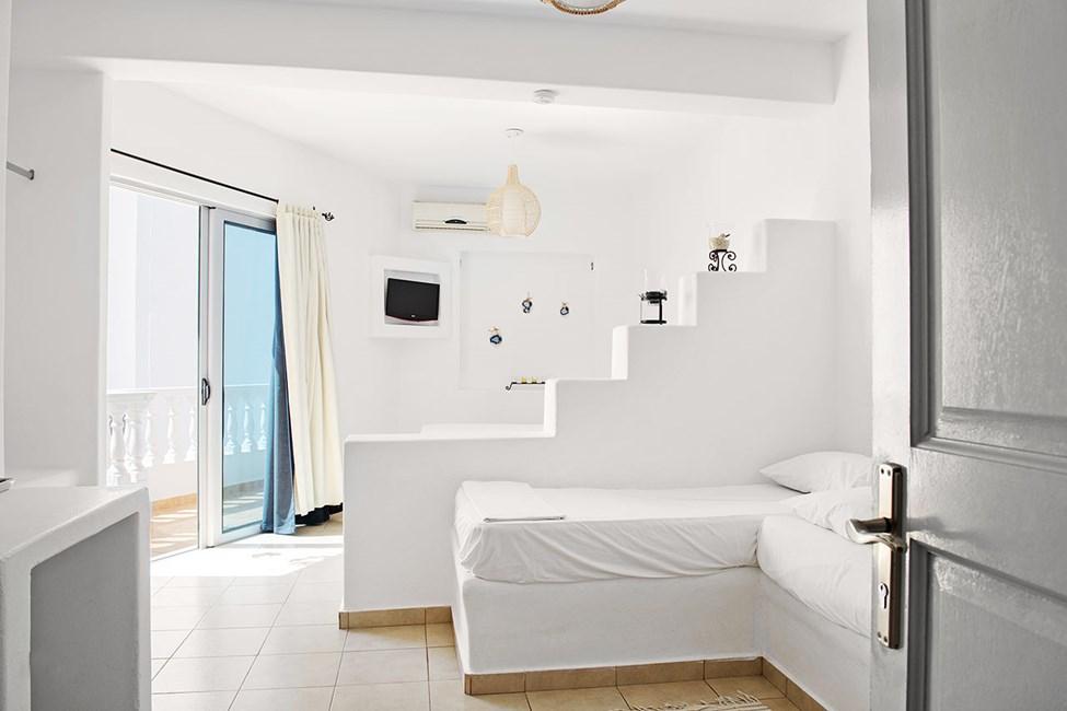 Dobbeltværelse med balkon og mulighed for to opredninger
