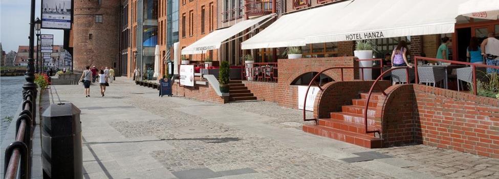 Hanza Hotel, Gdansk, Polen