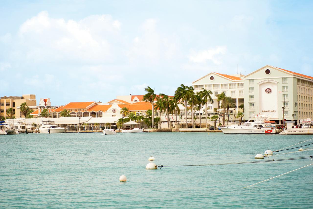 Aruba - Renaissance Mall i Oranjestad