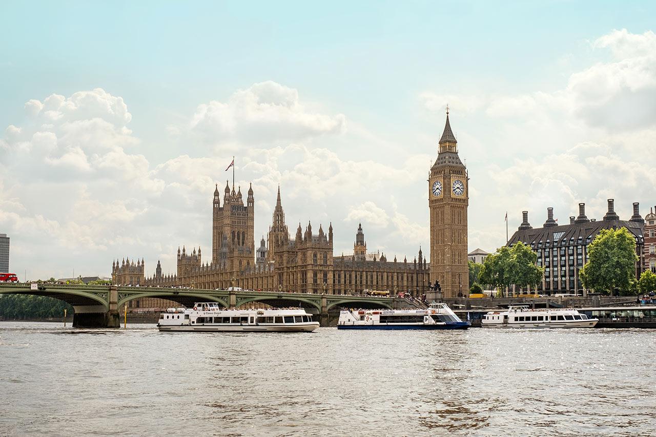 London - London Millennium Footbridge