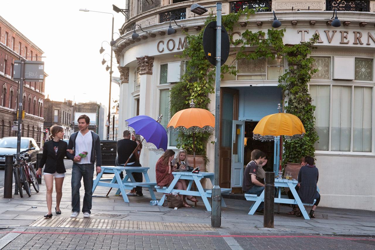 London - Commercial Street, Spitalfields