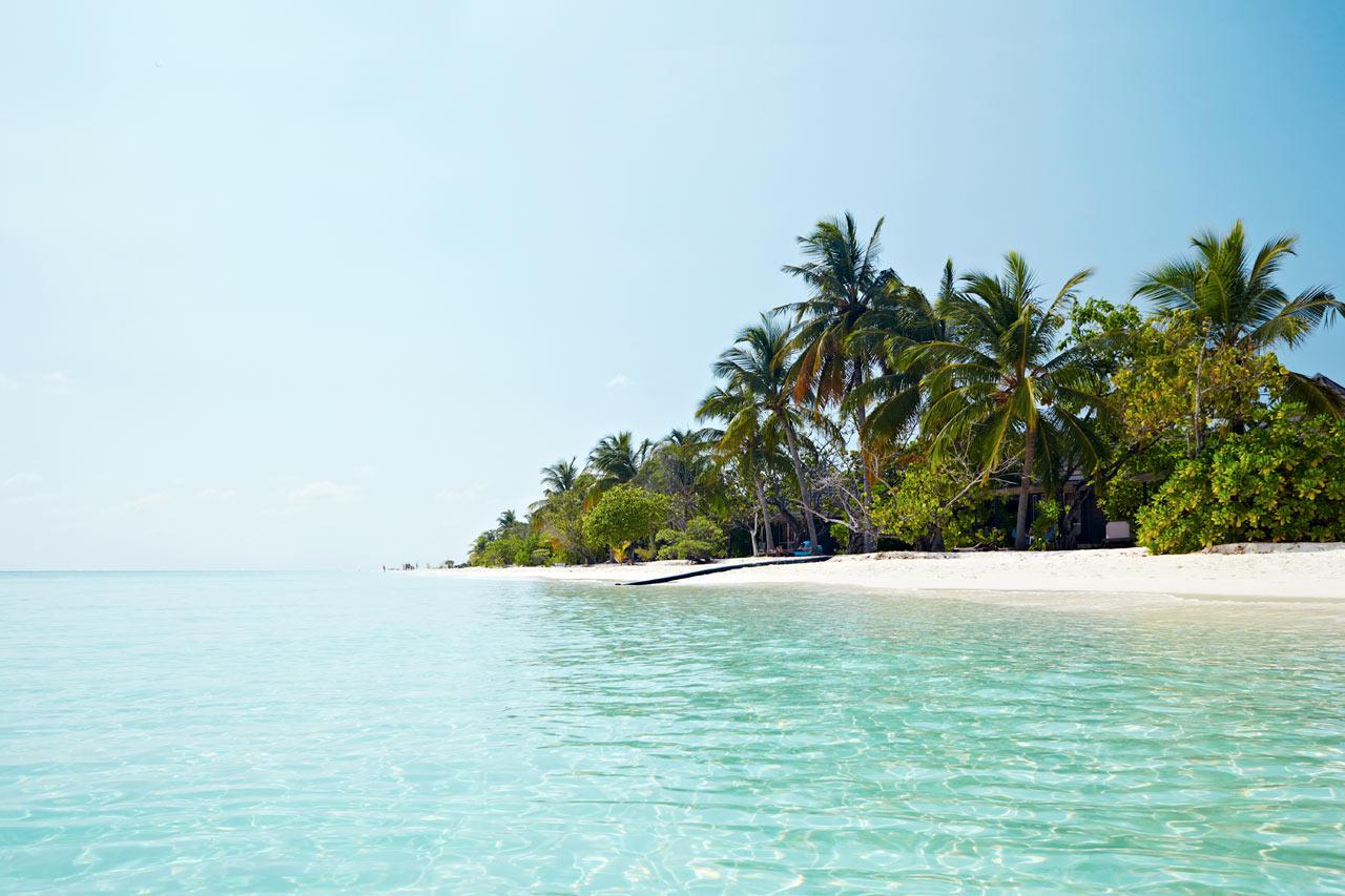 flyvetid fra billund til maldiverne