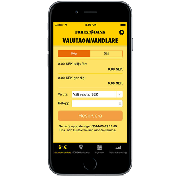 FOREX valutaapp