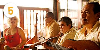 Dans og musik på Cuba