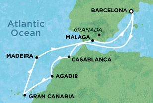 Norwegian Cruise Line Spies Rejser