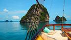 Med MV Phuket Champagne til søs