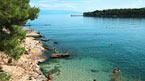 Øen Vis med båd og jeep